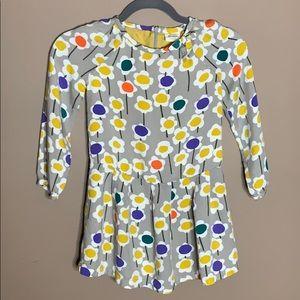 🌵Mini Boden whimsical floral dress